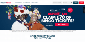 Blighty Bingo Login