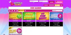 Bingo Fling Screenshot