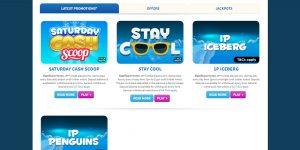Frozen Bingo Screenshot
